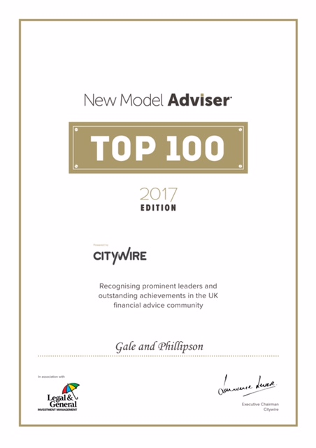North Yorkshire Financial Advice Firm Named One Of UK's Best
