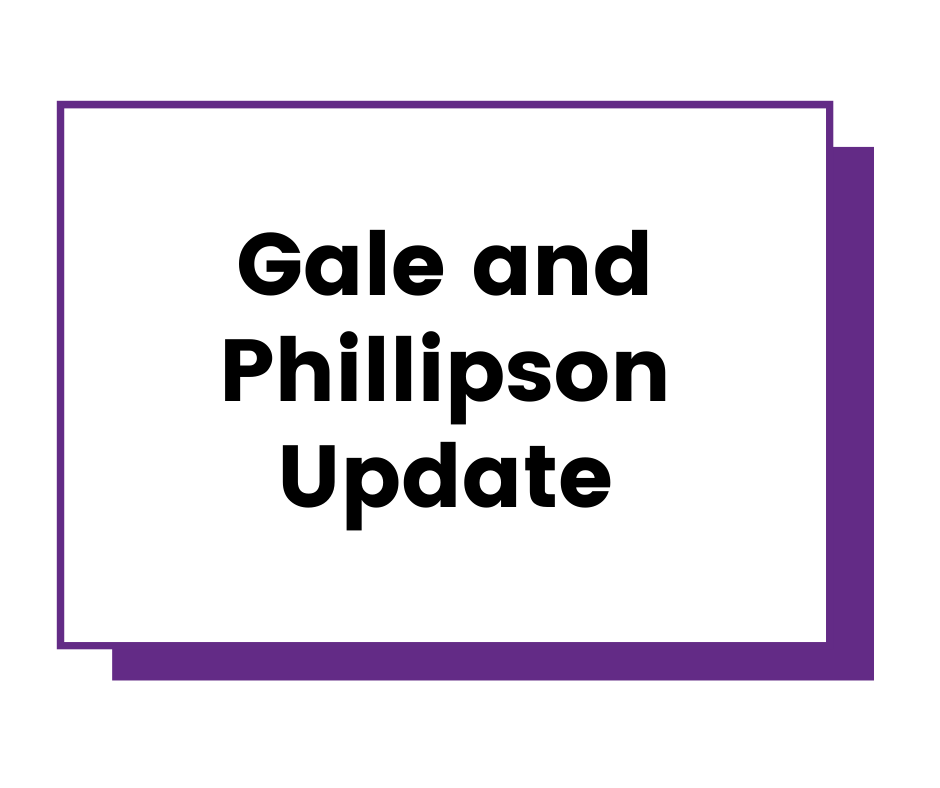 Update on how Gale and Phillipson is reacting to the Coronavirus